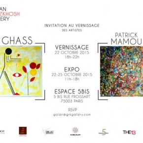 Ghass – Patrick Mamou, 2 artistes, 2 visions