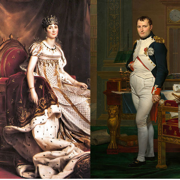 Josephine et Napoléon. Photo : Wikimedia Commons