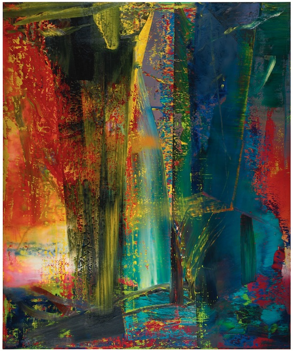 Gerhard Richter Abstraktes Bild (1986) Photo : Sotheby's