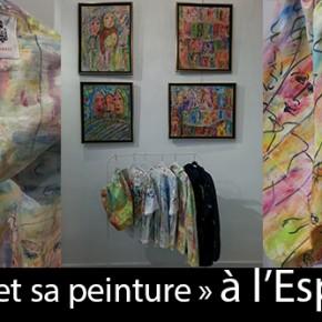«La veste de peintre et sa peinture» à l'Espace 5Bis