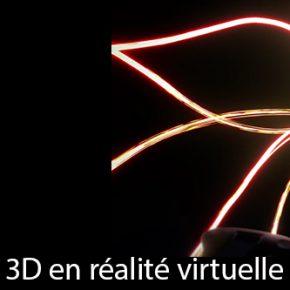 Tilt Brush, la peinture 3D en réalité virtuelle