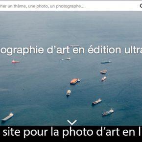 Lancement du site Artphotolimited