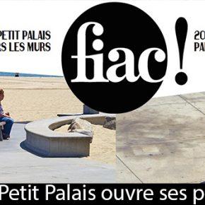 FIAC 2016: Le Petit Palais ouvre ses portes à l'art