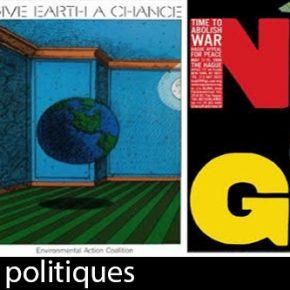 Exposition d'affiches politiques