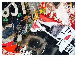 """Poésie urbain n° 7 - Urbain poetry n°7"" Tirage de 30x40 encadrée en 40x50 sur Papier Art Cold Press Bright Tirage n°2/15"