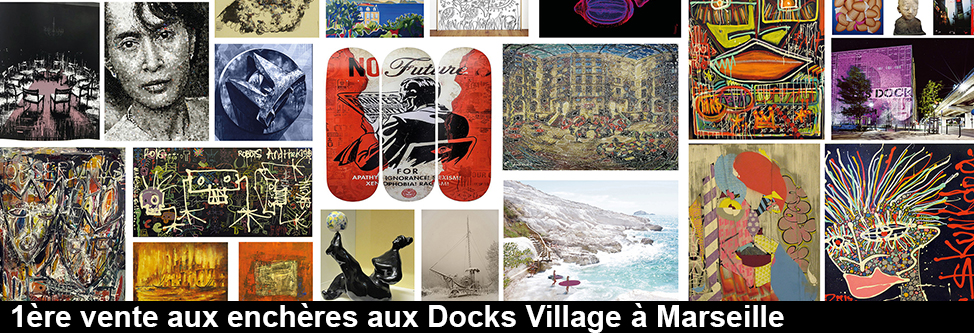 1ère vente aux enchères aux Docks Village