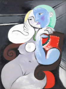 Pablo Picasso Nude Woman in a Red Armchair (Femme nue dans un fauteuil rouge) 1932 