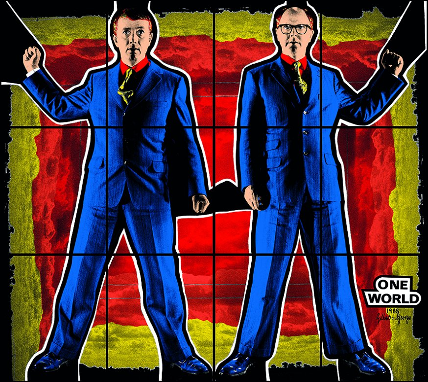 Gilbert & George : The Great Exhibition (1971-2016) Du 2 juillet 2018 au 6 janvier 2019