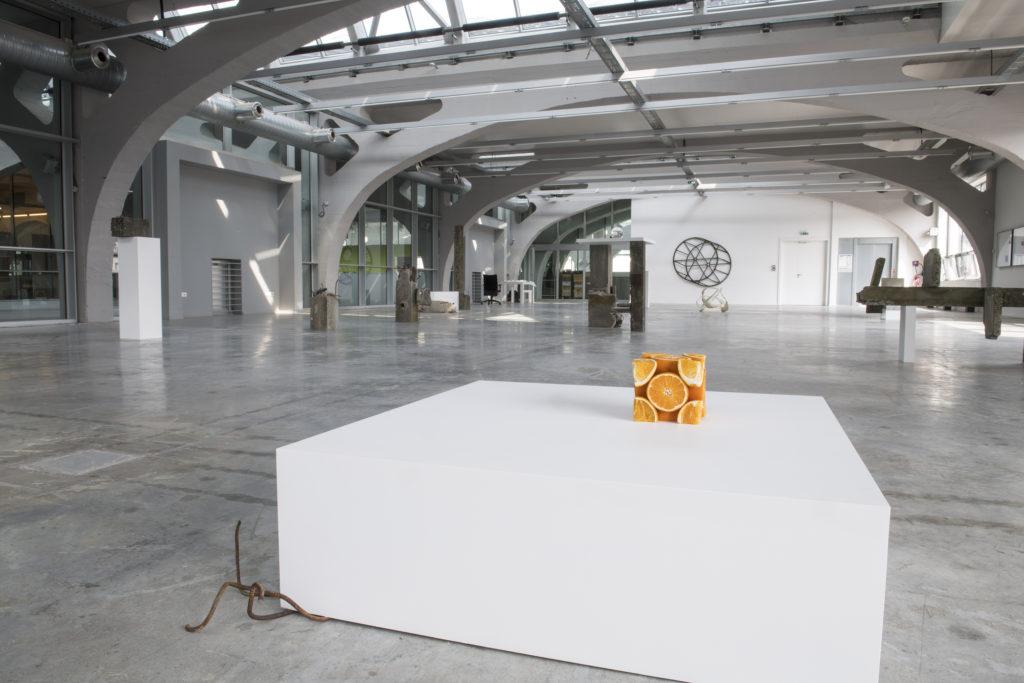 Vue d'exposition 'Nœuds Négatifs' - Étienne Chambaud, 2018 | © La Kunsthalle - photo : Sébastien Bozon