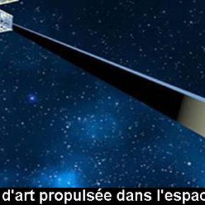 Orbital Reflector, l'oeuvre d'art propulsée dans l'espace