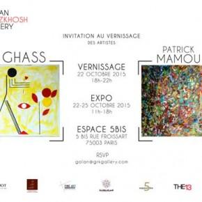 Ghass – Patrick Mamou, 2 artistes, 2 visions