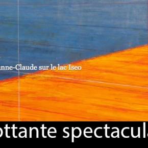 Ouvrage sur la passerelle de Christo et Jeanne-Claude sur le lac Iseo