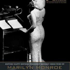 La plus mythique des robes de Marylin Monroe à nouveau aux enchères