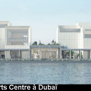 Inauguration du Jameel Arts Centre à Dubaï